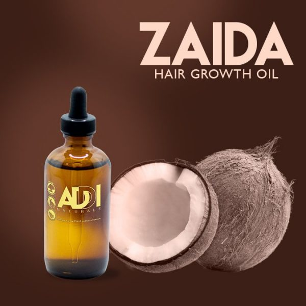 Zaida Hair Growth Oil - Addi Naturrals