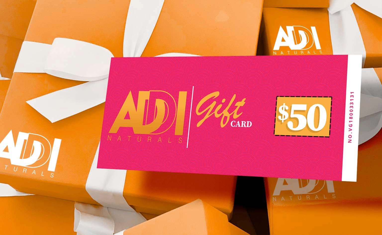 Gift Card from Addi Naturals